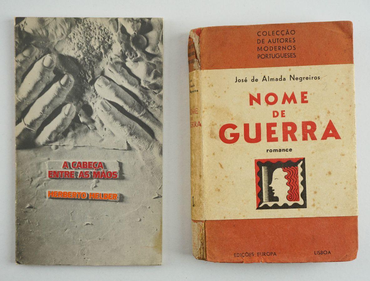 Dois clássicos das letras portuguesas em primeira edição.