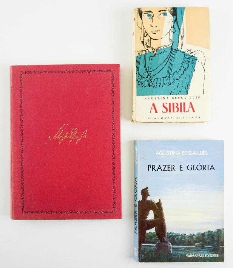 Três primeiras edições de Agustina Bessa-Luís.