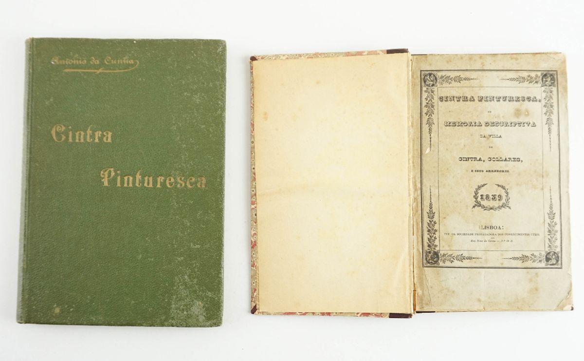 Dois monografias sobre a vila de Sintra
