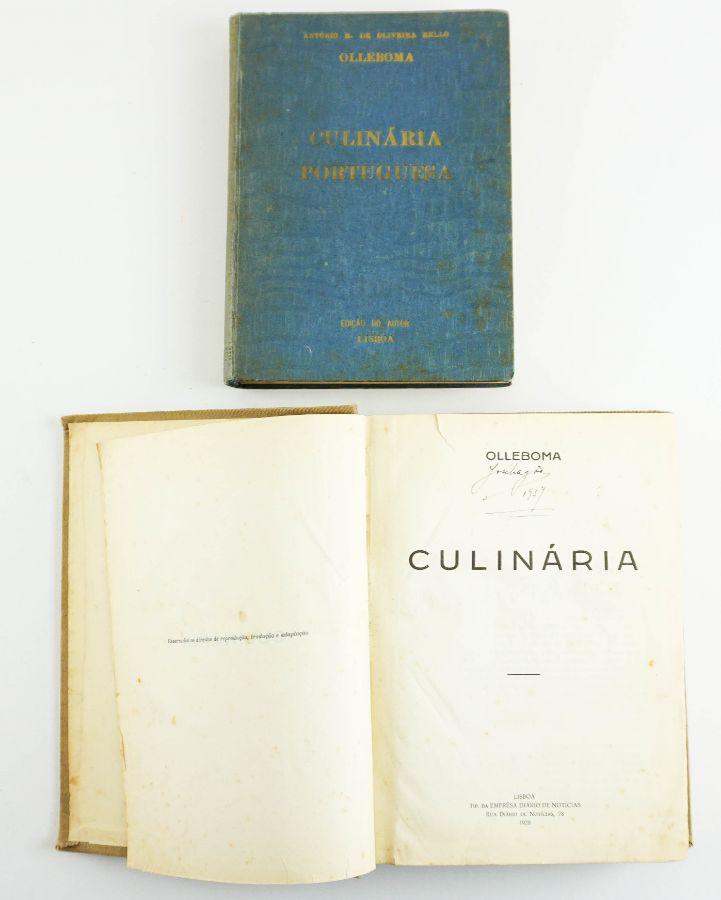 Dois clássicos da culinária portuguesa de António Maria de Oliveira Bello (Olleboma)
