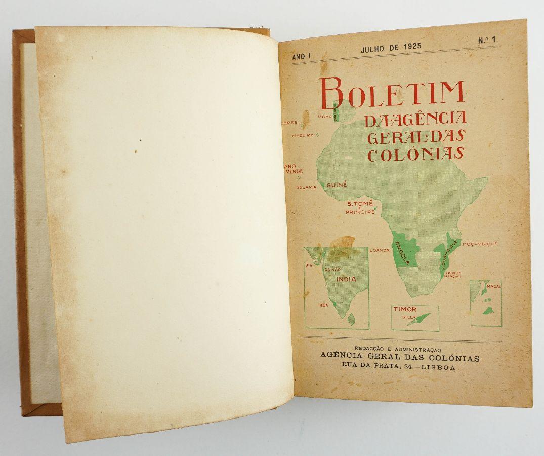 Boletim geral das colónias / Agência Geral das Colónias.