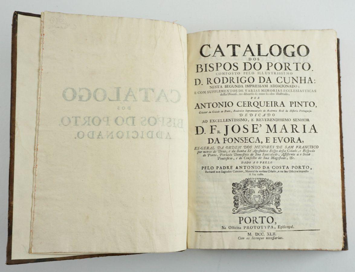 Catalogo dos Bispos do Porto