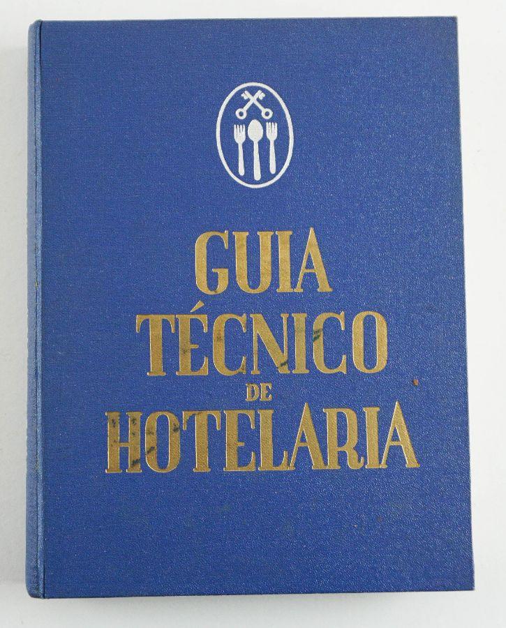 Livro raro sobre restauração e hotelaria
