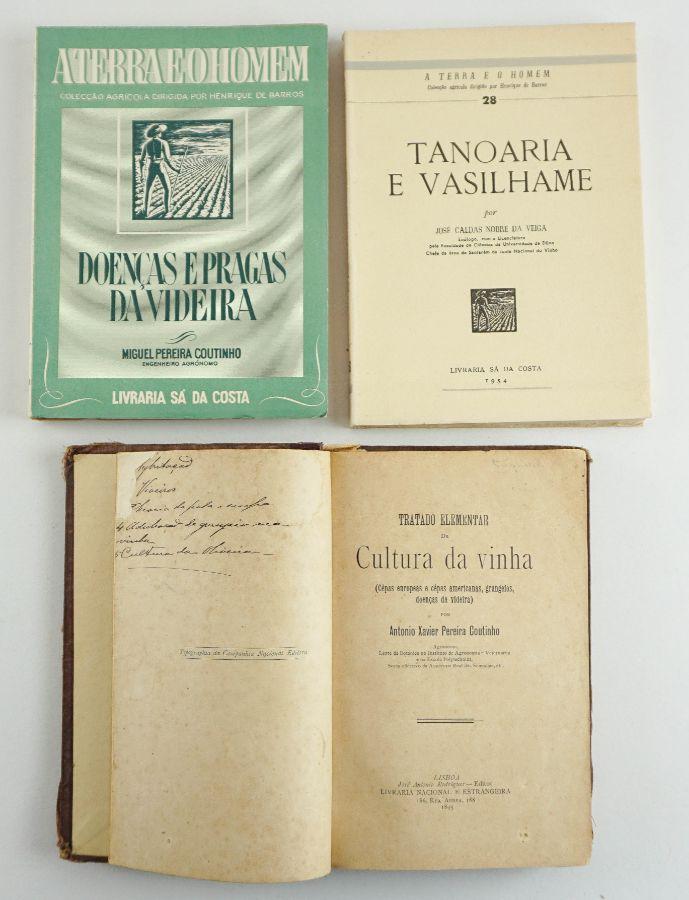 Três títulos sobre viticultura