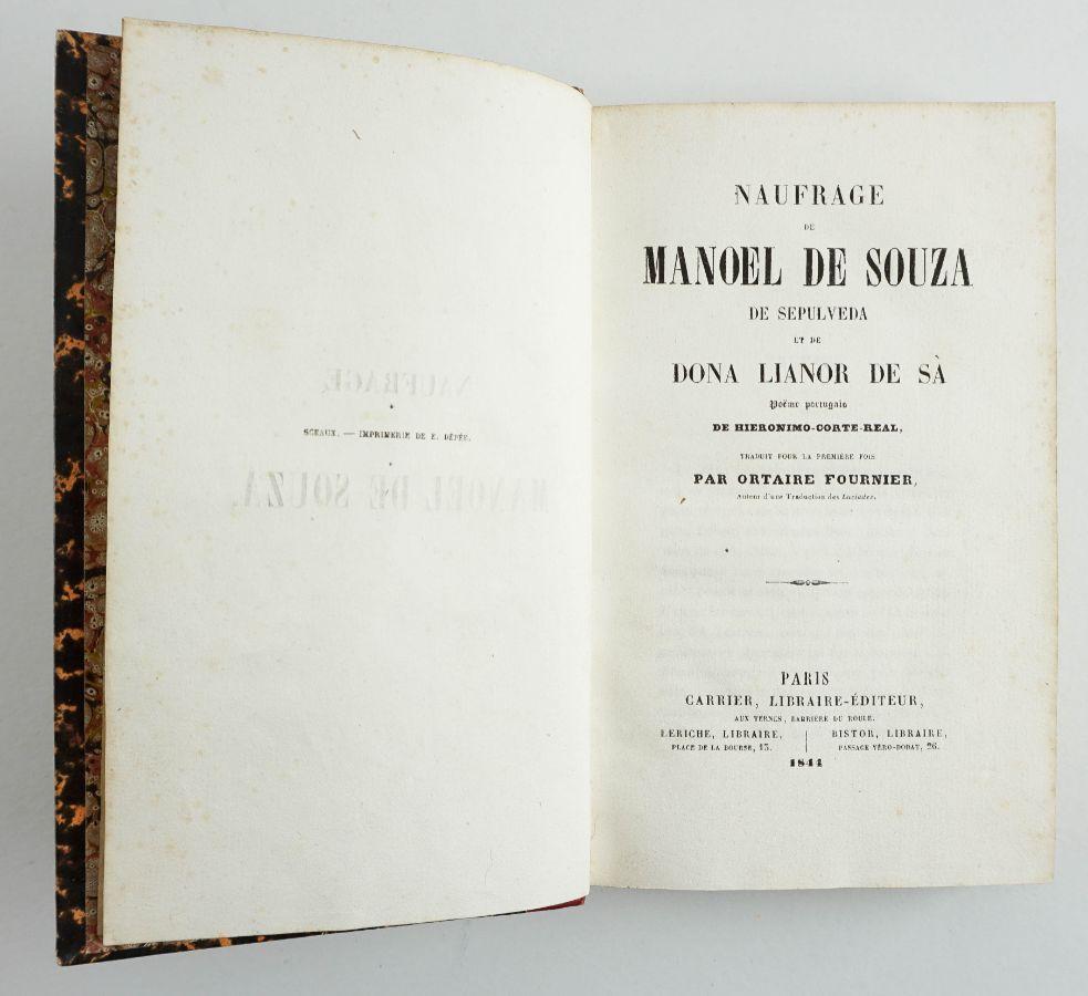 Naufrage de Manoel de Souza de Sepulveda et de dona Lianor de Sá
