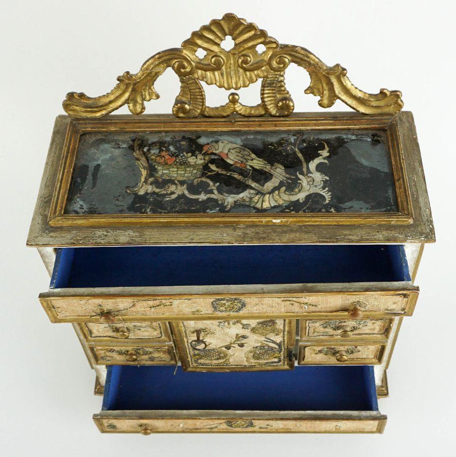 Caixa contador para jóias