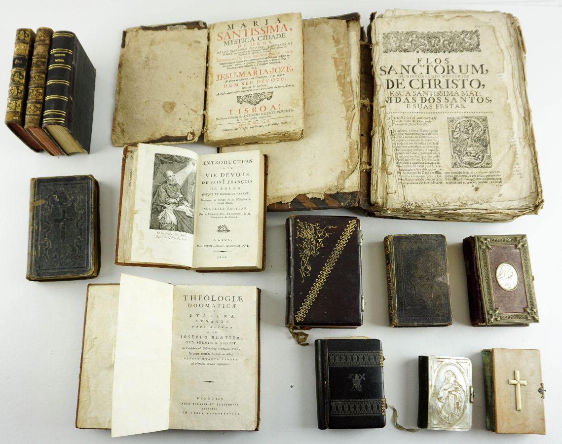 Livros Religiosos / Missais Séc. XVIII e XIX