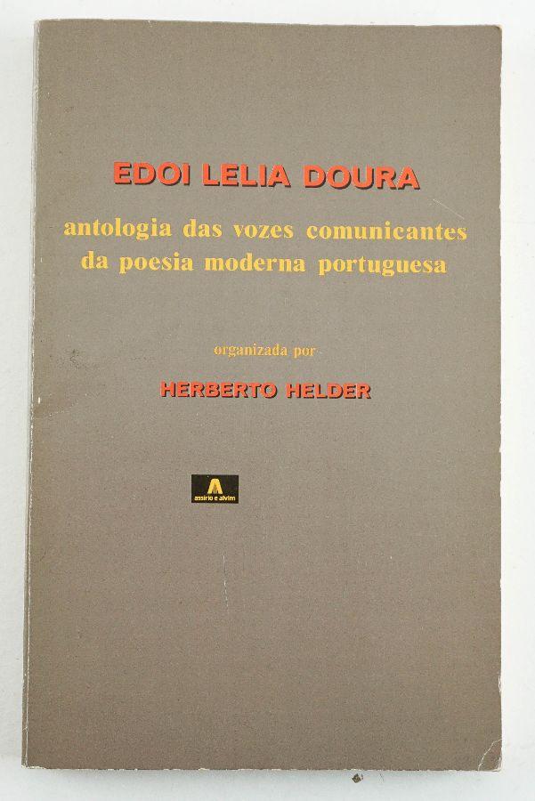 Herberto Helder com dedicatória poema inédito