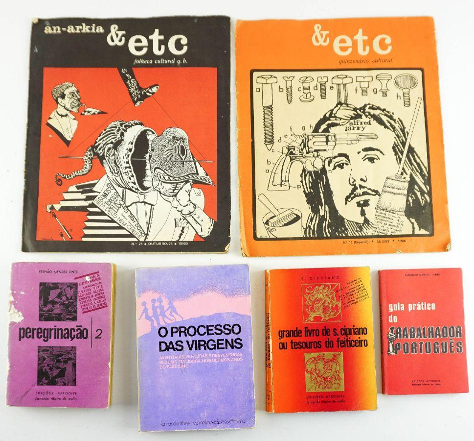 Publicações & Etc e Afrodite/ Fernando Ribeiro de Melo