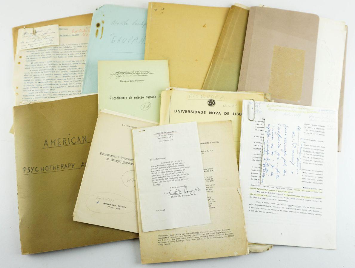 Acervo Documental / manuscritos Psicanálise em Portugal