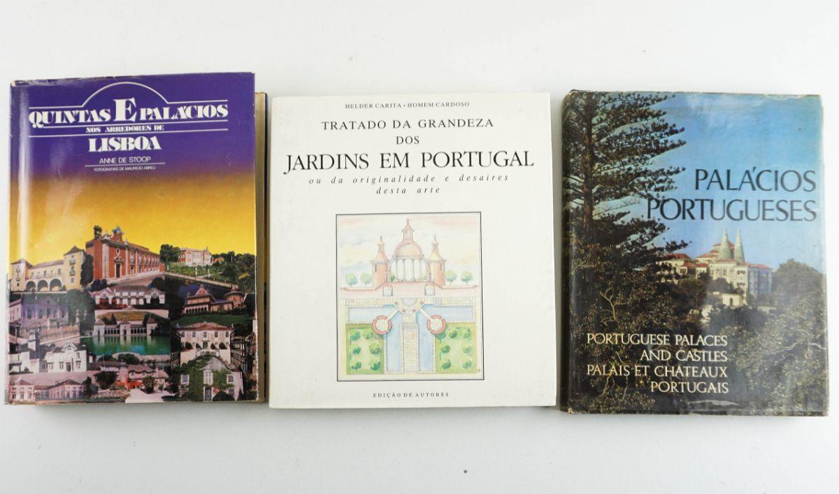 3 livros sobre Património Português