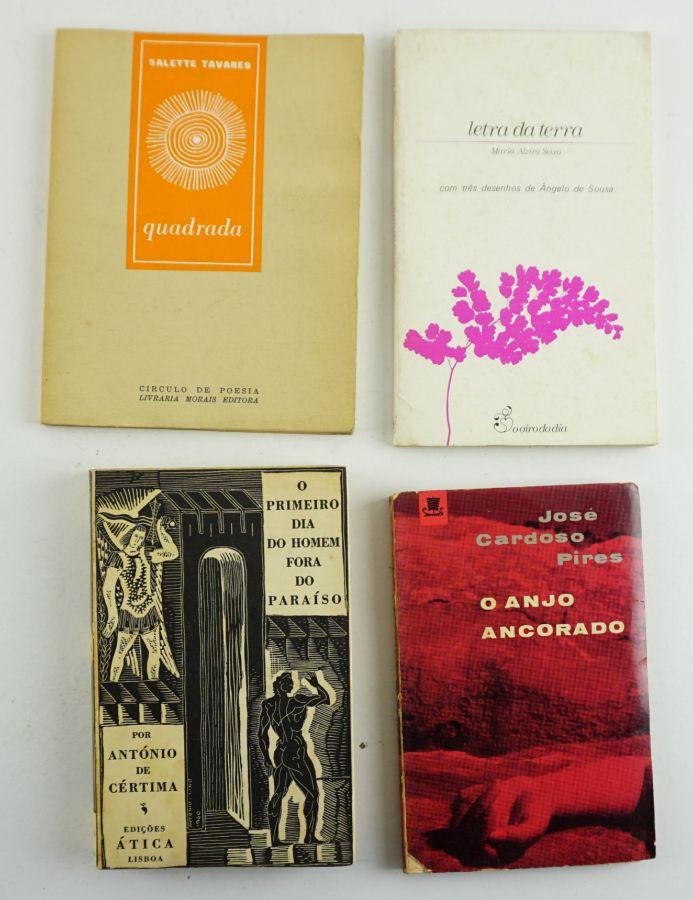 Literatura Portuguesa Primeiras Edições com dedicatória