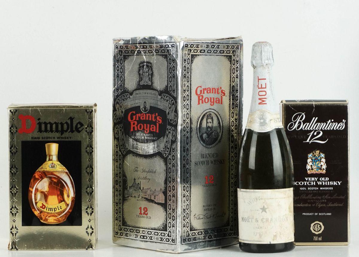 3 Garrafas de Whisky