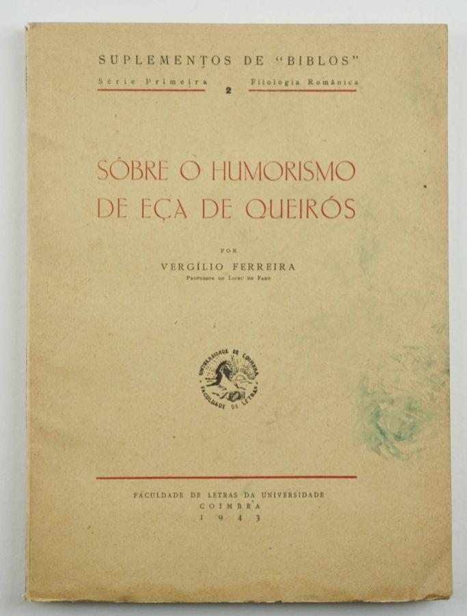 Vergílio Ferreira – Primeira obra do autor