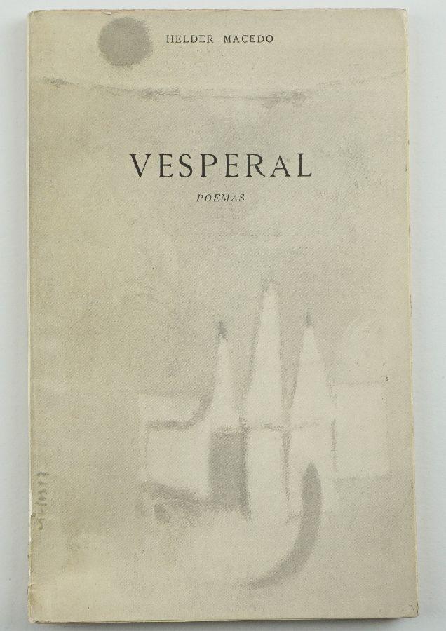 Helder Macedo – Primeiro livro do autor – com dedicatória