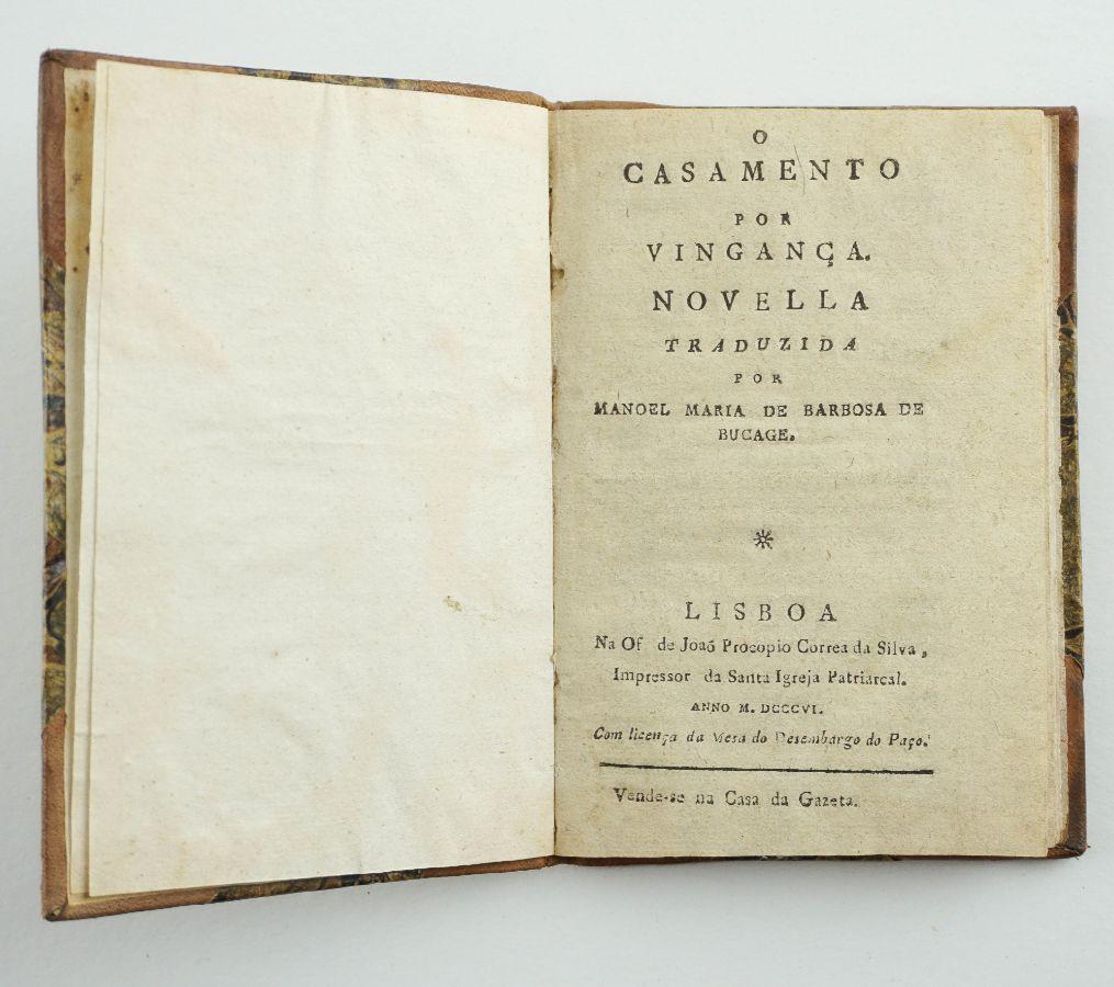 Bocage – Tradutor (1806)