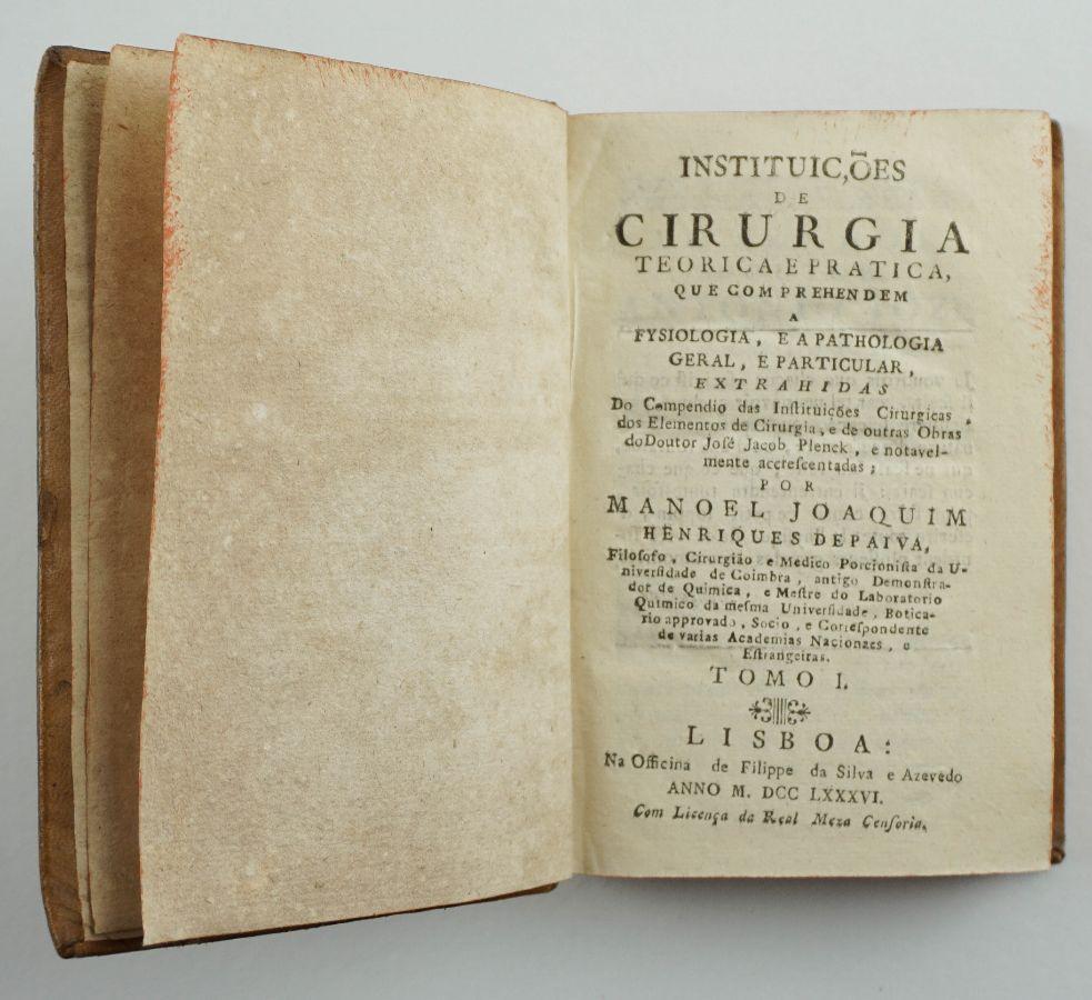 Instituições de Cirurgia Teórica e Prática (1786)