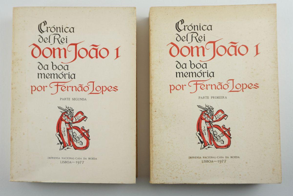 Fernão Lopes – Crónica del Rei Dom João I da boa memória