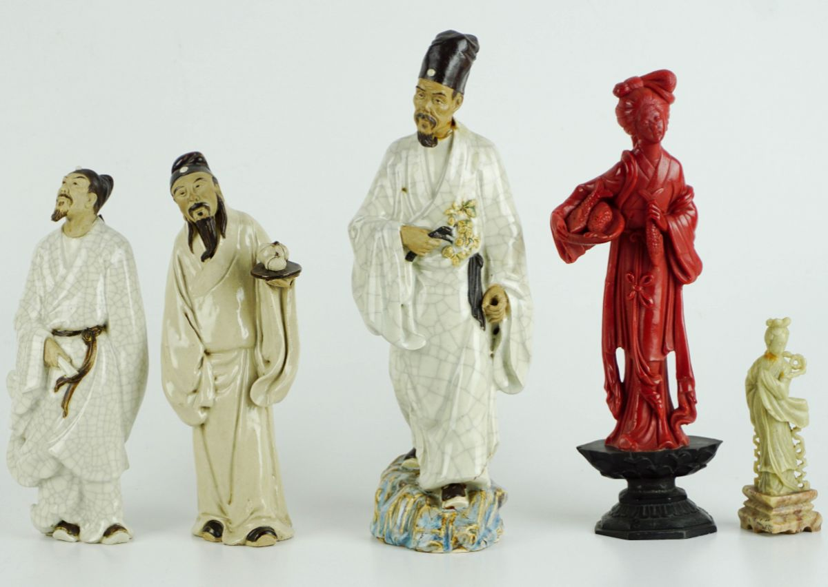 5 Esculturas Chinesas