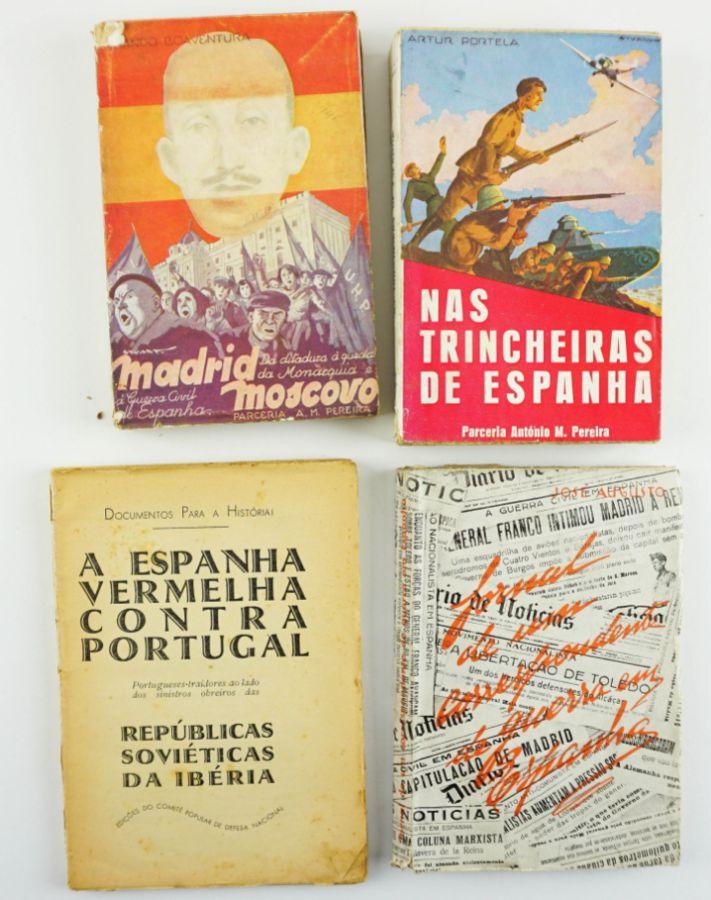 Guerra Civil de Espanha – livros portugueses