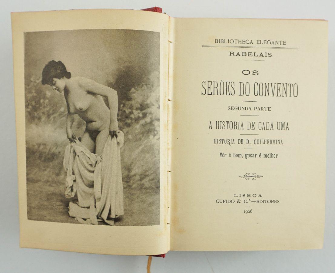 Livros Portugueses eróticos clandestinos (1906-1907)