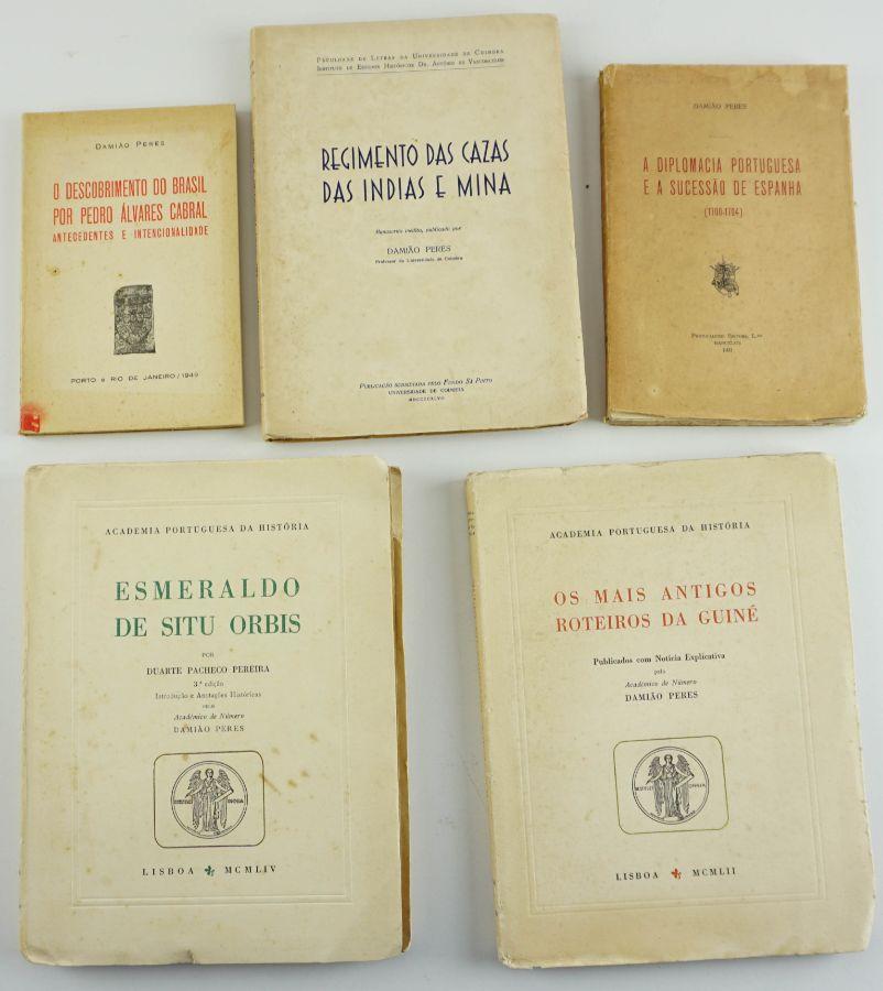 Obras de Damião Peres