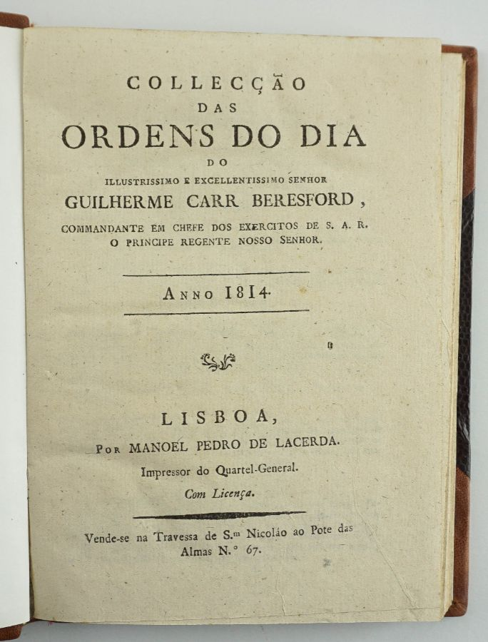 Ordens do Dia de Beresford (1814)