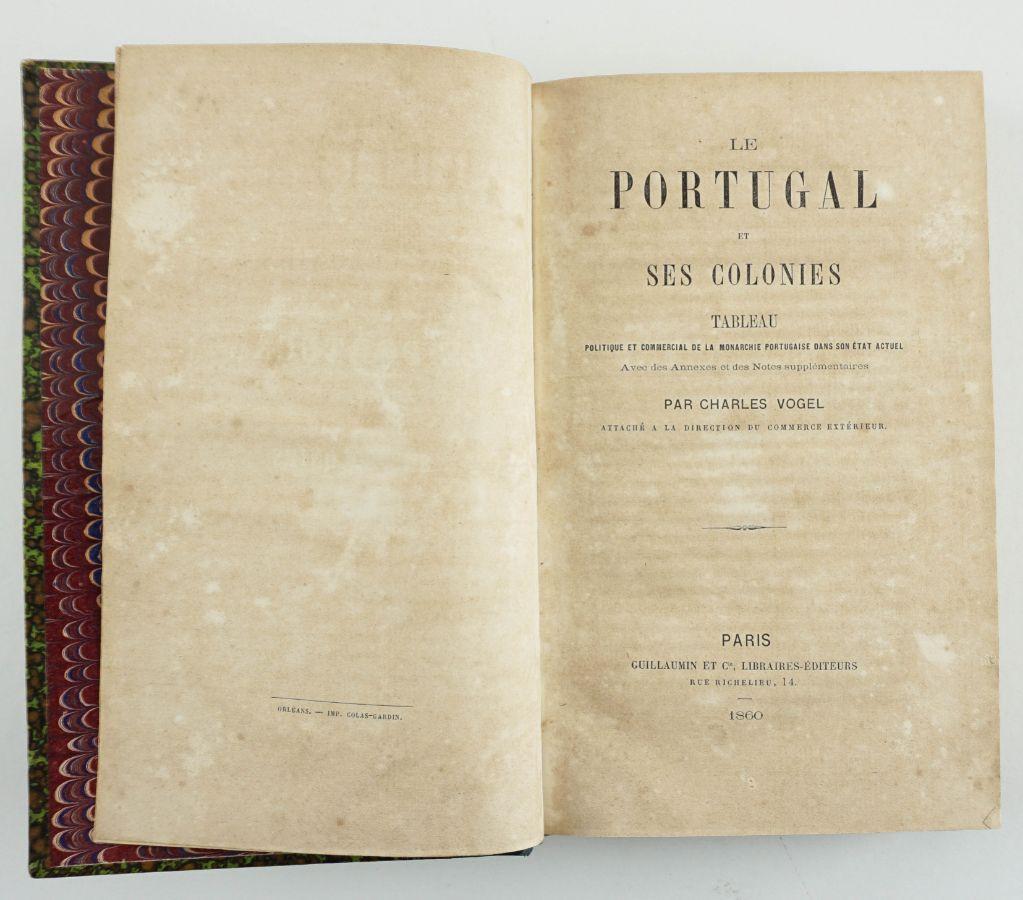 Obra sobre Portugal e as suas colónias (1860)
