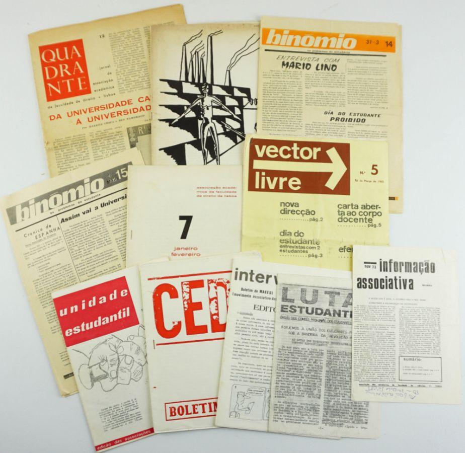 Publicações de Associações de Estudantes durante o Estado Novo