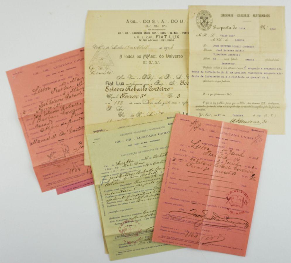 Documentos maçónicos (1912)