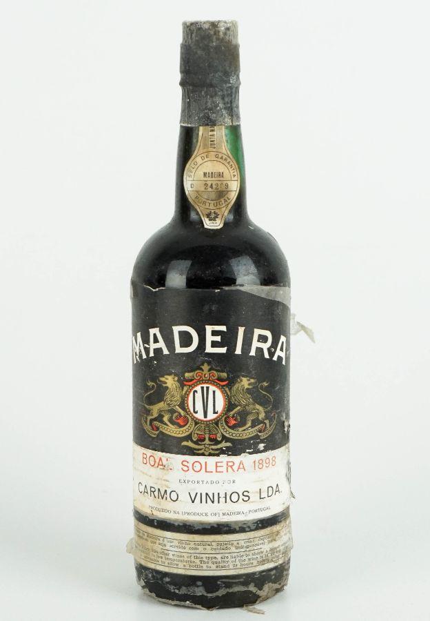 Vinho da Madeira 1898
