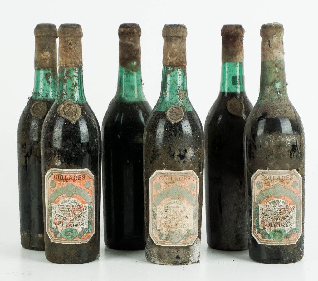 6 Garrafas de Vinho de Colares