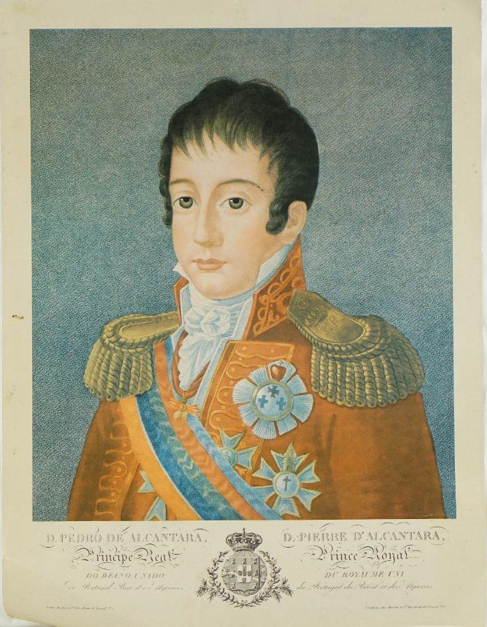 D. Pedro e Rainha Leopoldina