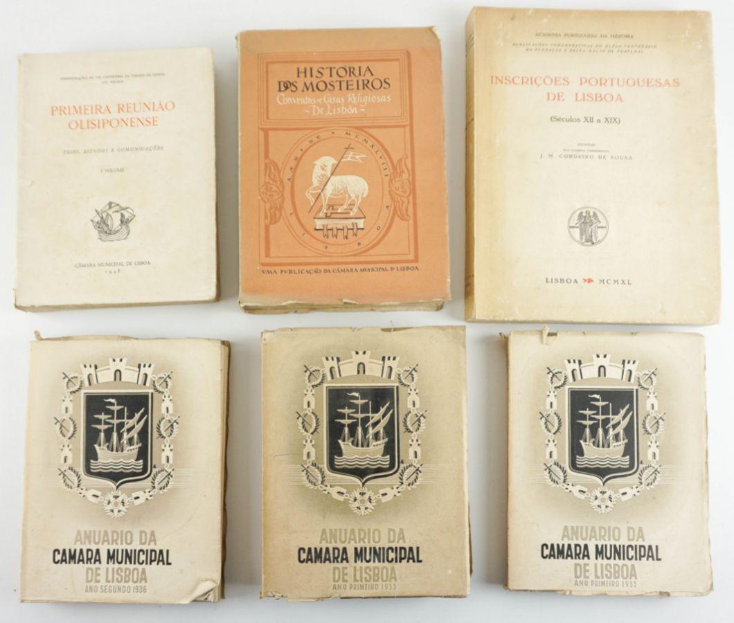 Seis livros sobre Lisboa