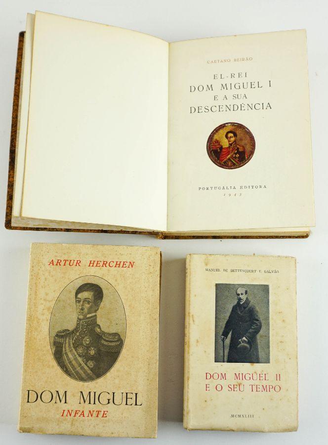 Dom Miguel , 3 livros