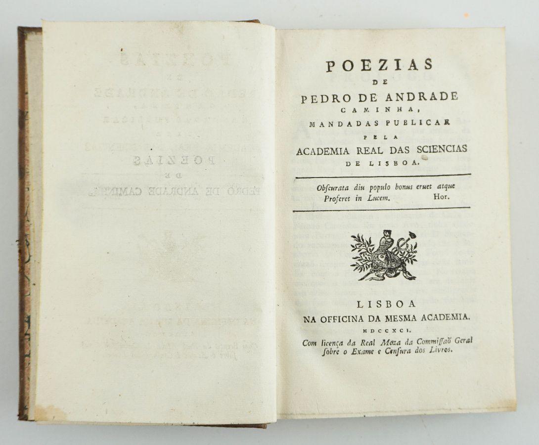 Poezias por Pedro de Andrade Caminha