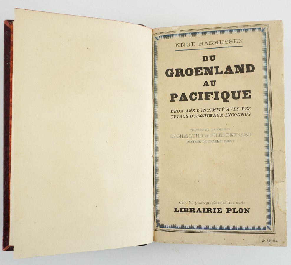 Du Groenland au Pacifique par Knud Rasmussen