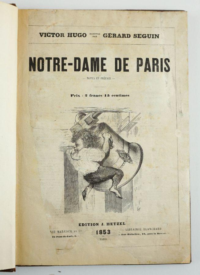 Notre-Dame de Paris por Victor Hugo ilustre par Gérard Seguin