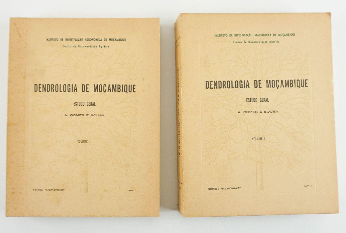 Dendrologia de Moçambique por A. Gomes e Sousa