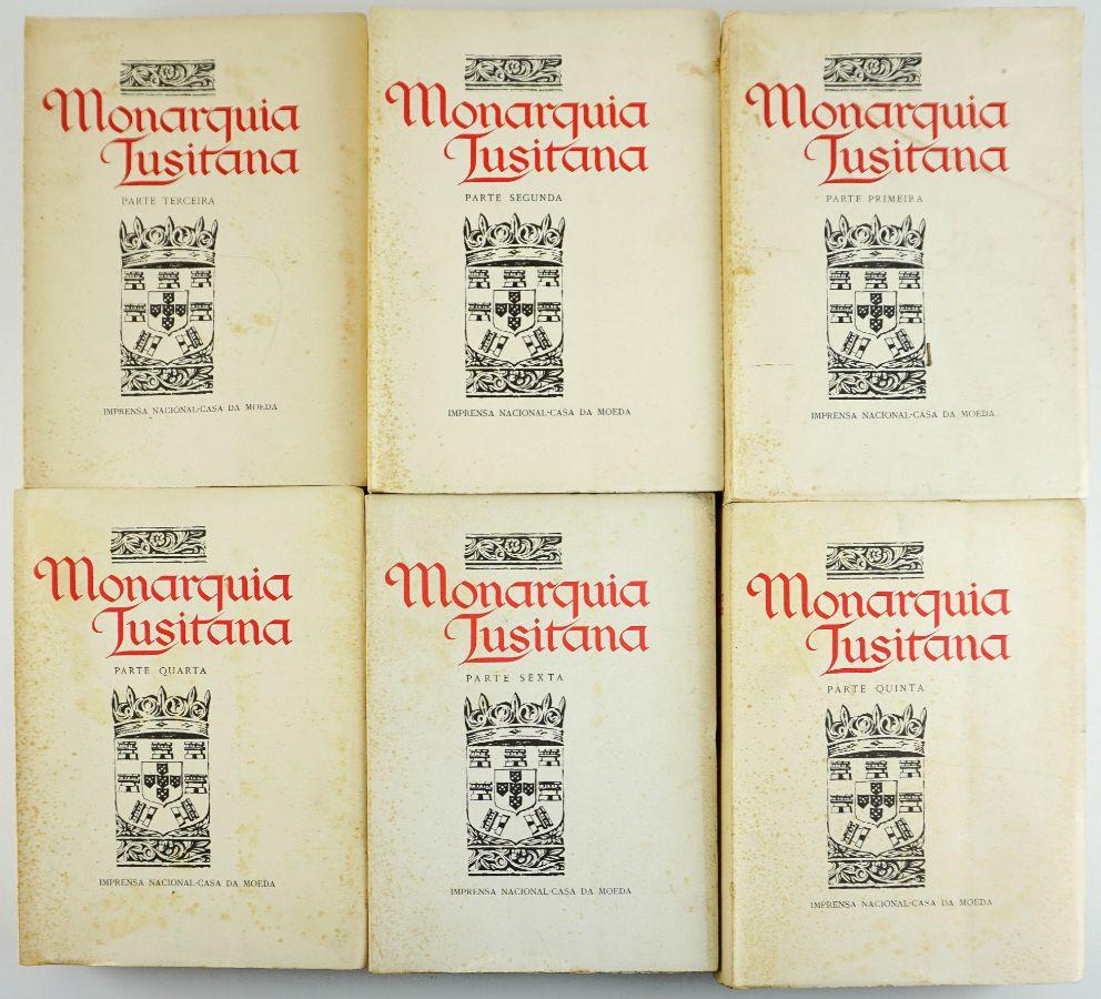 Monarquia Lusitana por Frei Bernardo de Brito