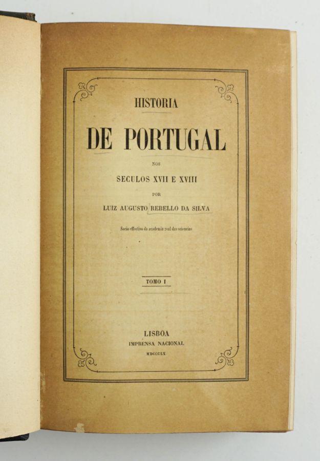 História de Portugal – Luiz Augusto Rebello da Silva