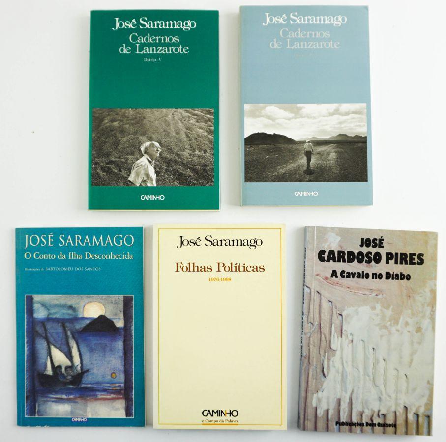 Primeiras edições - José Saramago / José Cardoso Pires