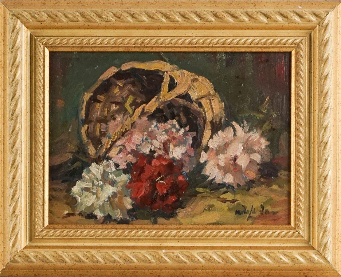 Cesto com flores