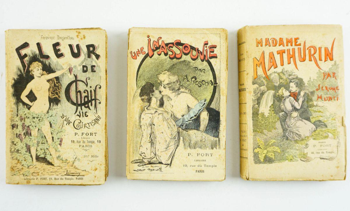 Livros eróticos francesas da Belle Époque