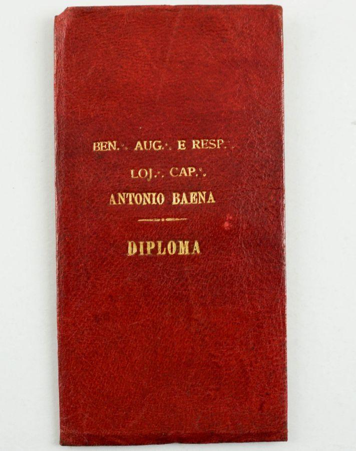 Diploma maçónico