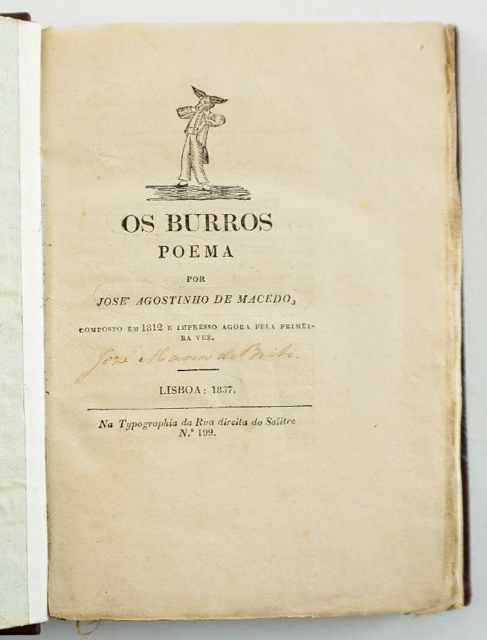 Os Burros (1827)