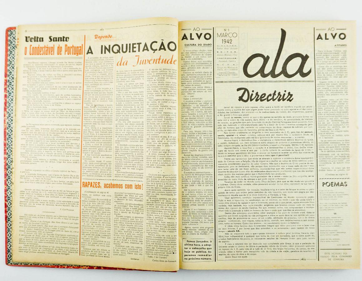 Ala, jornal da Juventude Católica (1941-1947)