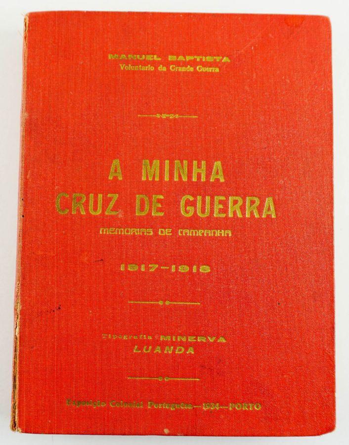 Rara obra sobre a Grande Guerra publicado em Luanda memorialísticas portuguesas mais raras sobre a Grande Guerra.