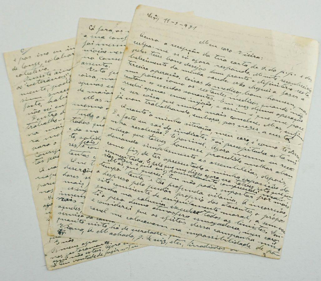 Carta inédita do dirigente anarco-sindicalista Manuel Joaquim de Sousa (1931)
