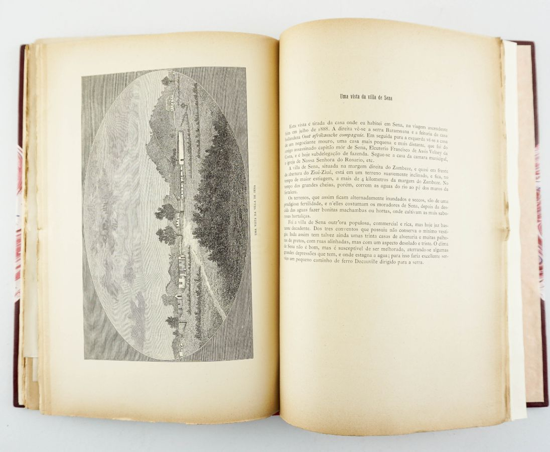 Livro do Comandante Augusto de Castilho sobre a Guerra na Zambézia (1891)